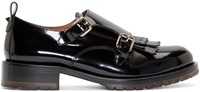 Valentino Black Monk Strap Formal Loafers