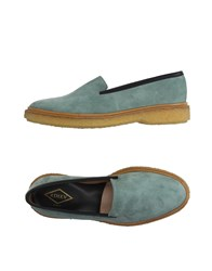 Adieu Footwear Moccasins Men Light Green
