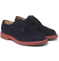 Church's Fulbeck Suede Derby Shoes Navy