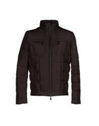 Roy Rogers Roy Roger's Coats And Jackets Down Jackets Men Dark Brown