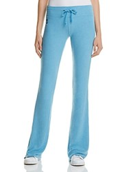 Wildfox Couture Sweatpants Basic Solid Tennis Club Blue Shimmer