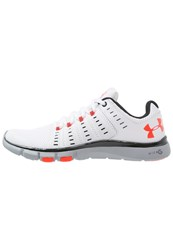 Under Armour Micro G Limitless Tr 2 Sports Shoes White Black Bolt Orange