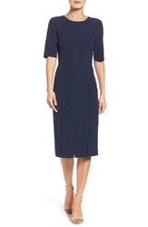 Maggy London Women's Solid Dream Crepe Dress