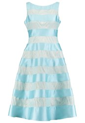Adrianna Papell Cocktail Dress Party Dress Aqua Glass Blue