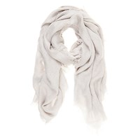 Mint Velvet Textured Scarf Grey
