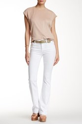 7 For All Mankind Bootcut Released Hem Jean White