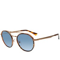 Persol 2456S Round Sunglasses Brown