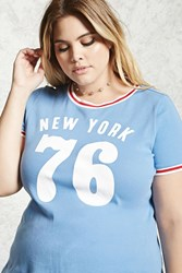 Forever 21 Plus Size Retro Ny 76 Tee