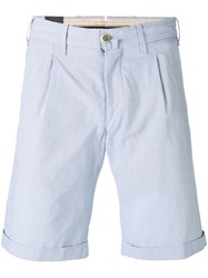 Lardini Cuffed Pleated Shorts Men Cotton 46 White