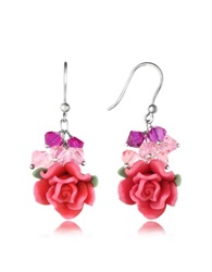 Dolci Gioie Rose Earrings Pink