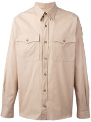 Stella Mccartney Long Sleeve Shirt Nude And Neutrals