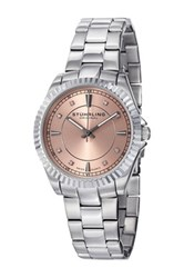 Stuhrling Women's Lady Marine Watch Metallic
