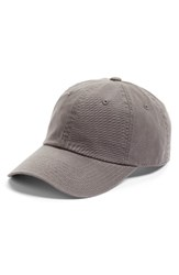 American Needle Women's Washed Cotton Baseball Cap Grey Cool Grey