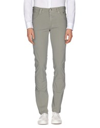 Carlo Chionna Trousers Casual Trousers Men Light Grey