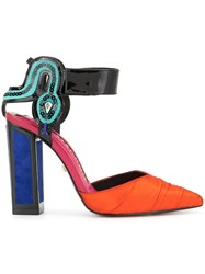 Kat Maconie Mamba Colour Block Pumps Multicolour