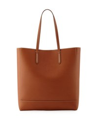 Ralph Lauren Modern Leather Tote Bag Brown Gold