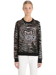 Kenzo Tiger Printed Light Cotton Sweatshirt