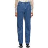 Y Project Blue Small Line Jeans