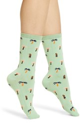 Richer Poorer Poor Isla Classic Crew Socks Mint