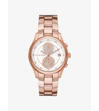 Briar Pave Rose Gold Tone Watch