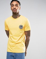 Hype T Shirt With Crest Logo Yellow