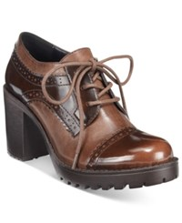 Mojo Moxy Dolce By Rosemary Lace Up Oxfords Women's Shoes Brown