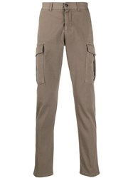 Eleventy Cargo Pocket Slim Fit Trousers 60
