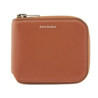 Acne Studios Kei S Wallet Brown