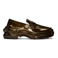 Maison Martin Margiela Bronze Cross Loafers