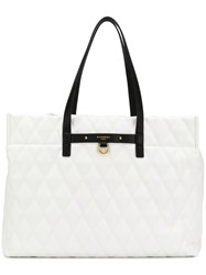 Givenchy Quilted Tote Bag White