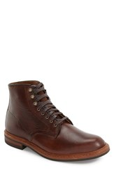 Allen Edmonds Men's 'Higgins Hill' Plain Toe Boot Brown Leather