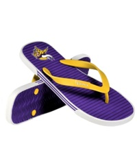 Forever Collectibles Minnesota Vikings Thong Sandals