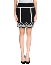 Tomaso Mini Skirts Black