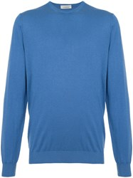 Laneus Crew Neck Sweater Blue