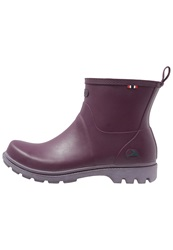 Viking Noble Wellies Plum Dark Purple
