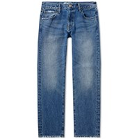 Vanquish 80S Washed Tapered Jean Blue