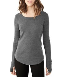 Alternative Apparel Long Sleeve Top Eco Black