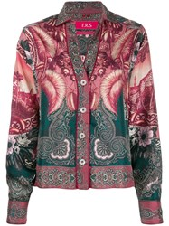 F.R.S For Restless Sleepers Mixed Print Shirt 60