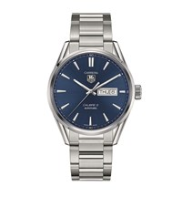 Tag Heuer Carrera Calibre 5 Day Date Automatic Watch Unisex Blue