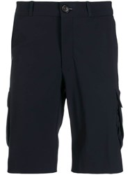 Rrd Knee Length Cargo Shorts Blue