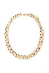 Forever 21 Classic Short Chain Necklace Gold