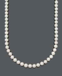 Belle De Mer Aa Cultured Freshwater Pearl Strand Necklace 9 1 2 10 1 2Mm In 14K Gold