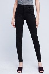 Anthropologie Citizens Of Humanity Rocket High Rise Petite Jeans Black