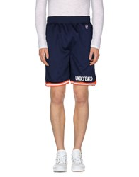 Undefeated Trousers Bermuda Shorts Men Dark Blue
