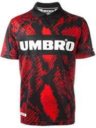 House Of Holland Umbro Football Top Red