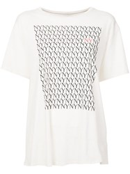 6397 Nyny Printed T Shirt White