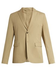 Acne Studios Antibes Pop Cotton Blazer Beige