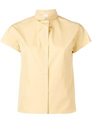 Aspesi Short Sleeved Shirt Yellow