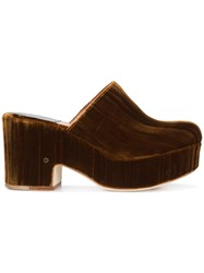 Laurence Dacade Nanouk Clogs Brown