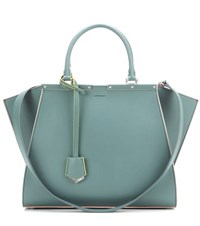 Fendi 3Jours Leather Tote Green